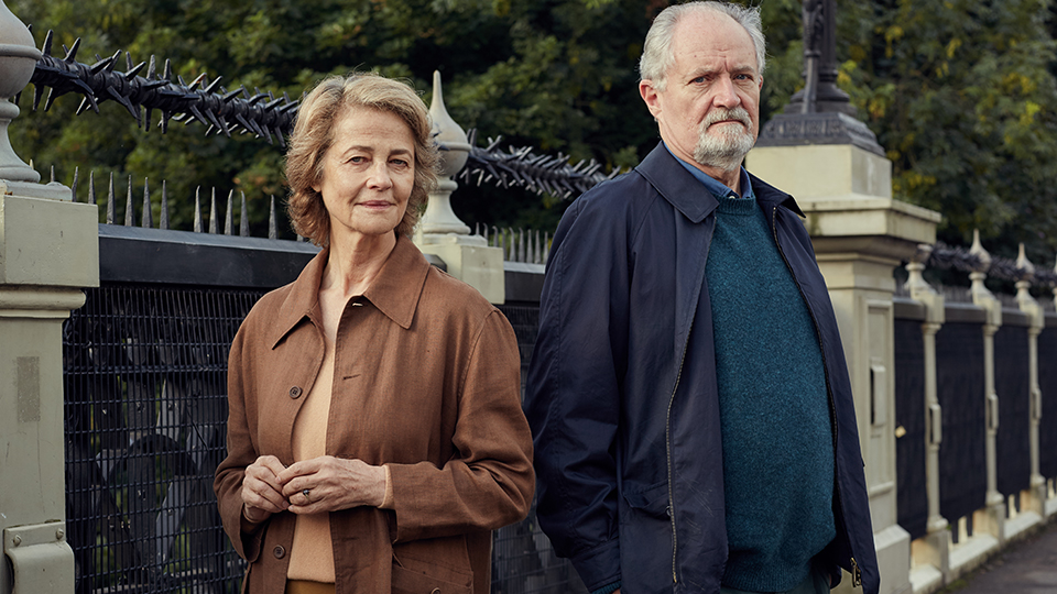 Veronica Ford (Charlotte Rampling) und Tony Webster (Jim Broadbent)