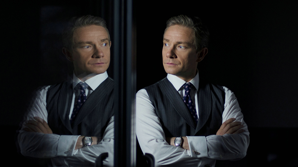 Mike Priddle (Martin Freeman)