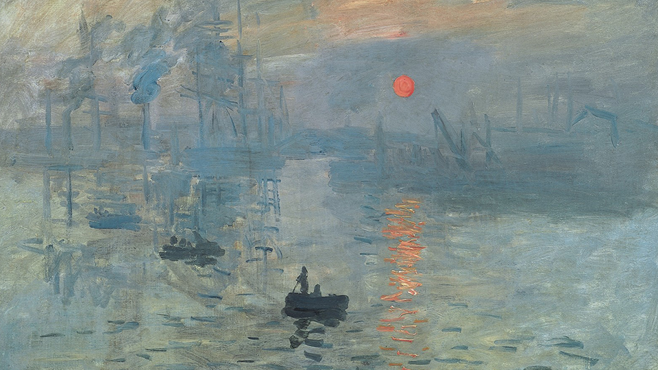 Claude Monets Impression, Sonnenaufgang 1872