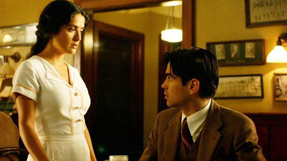 Salma Hayek and Colin Farrell in Ask the Dust