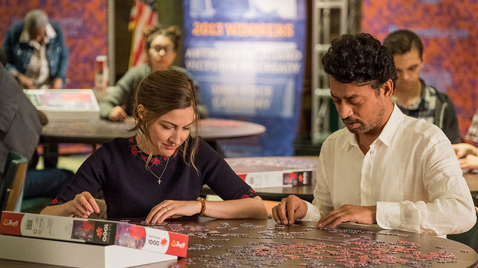 Agnes (Kelly Macdonald) und Robert (Irrfan Khan)