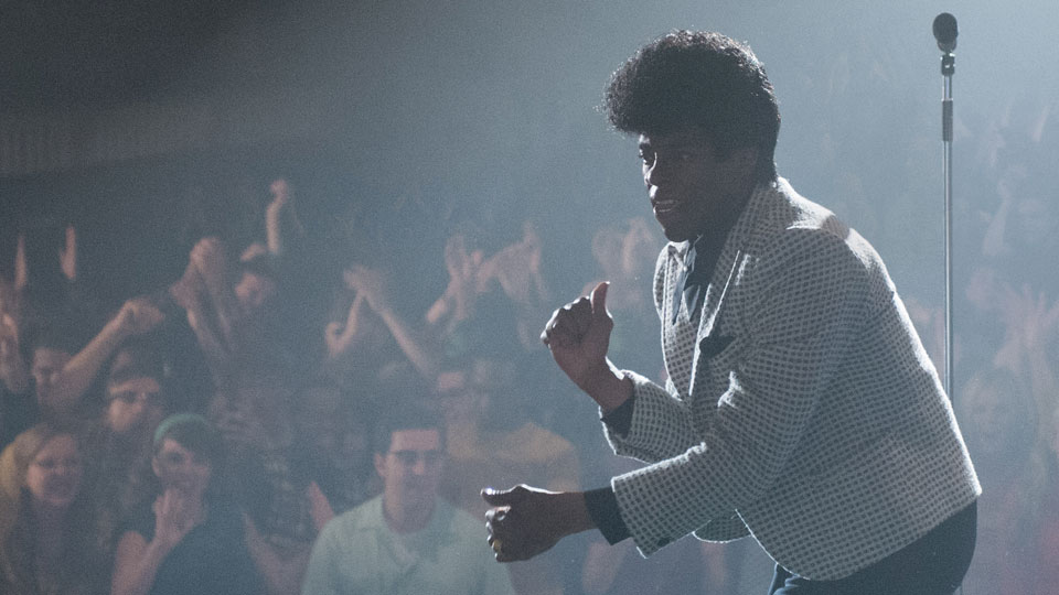 Get On Up erzaehlt die Lebensgeschichte der Musiklegende James Brown.
