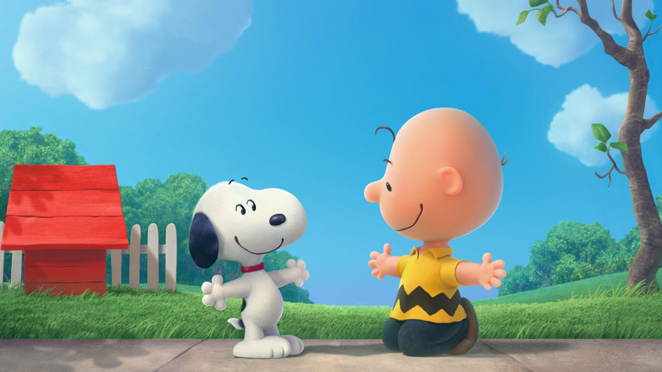 Snoopy und Charlie Brown